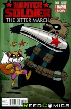 Winter Soldier The Bitter March #1 (Animal Variant)