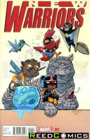 New Warriors Volume 5 #1 (Animal Variant Cover)