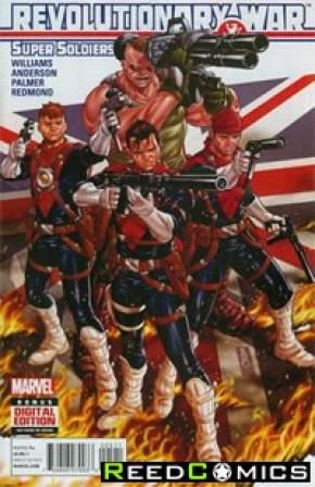Revolutionary War Supersoldiers #1