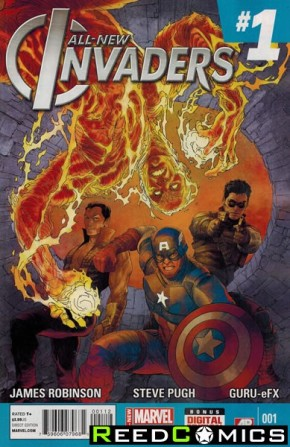 All New Invaders #1 (2nd Print)