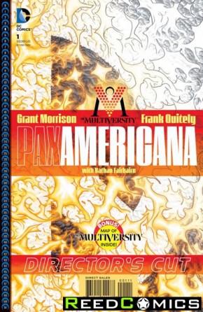 Multiversity Pax Americana #1 Directors Cut