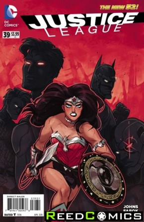 Justice League Volume 2 #39 (1 in 25 Incentive Variant Cover)