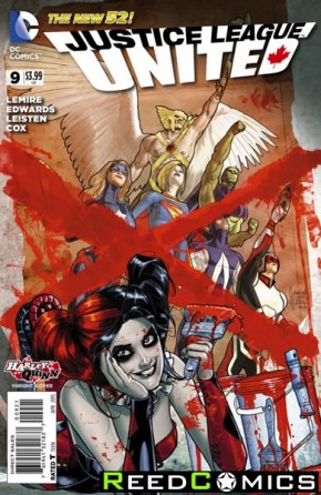 Justice League United #9 (Harley Quinn Variant Edition)