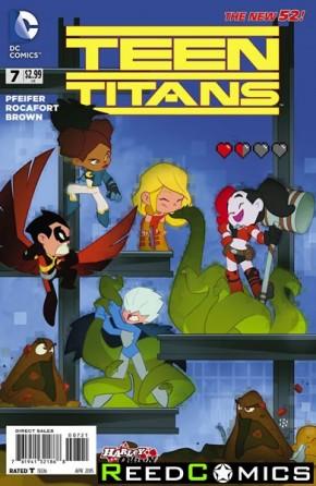 Teen Titans Volume 5 #7 (Harley Quinn Variant Cover)