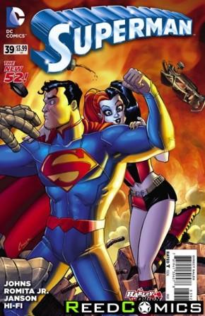 Superman Volume 4 #39 (Harley Quinn Variant Edition)