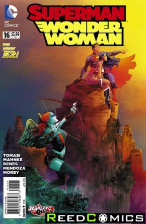 Superman Wonder Woman #16 (Harley Quinn Variant Edition)