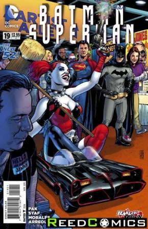 Batman Superman #19 (Harley Quinn Variant Edition)