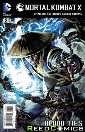 Mortal Kombat X #2