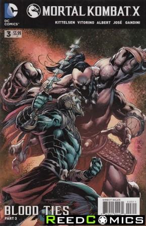 Mortal Kombat X #3