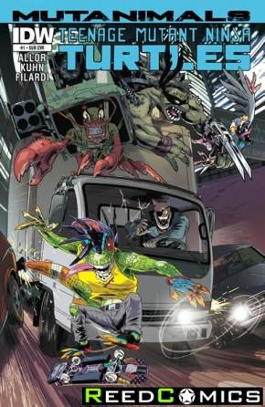 Teenage Mutant Ninja Turtles Mutanimals #1 (Subscription Variant Cover)