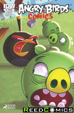 Angry Birds #8 (Subscription Variant Cover)