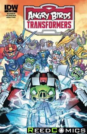 Angry Birds Transformers #4