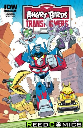Angry Birds Transformers #4 (Subscription Variant Cover)