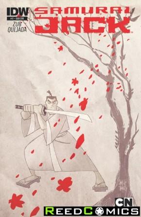 Samurai Jack #17 (Subscription Variant Cover)