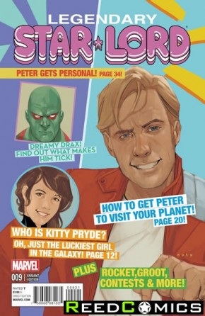Legendary Star Lord #9 (Noto Variant Cover)