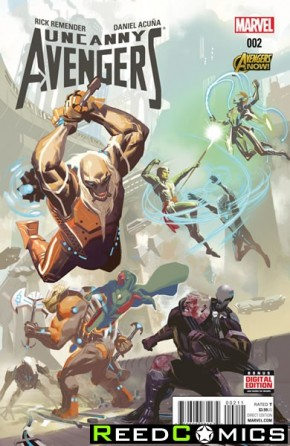Uncanny Avengers Volume 2 #2