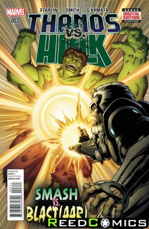 Thanos vs Hulk #3