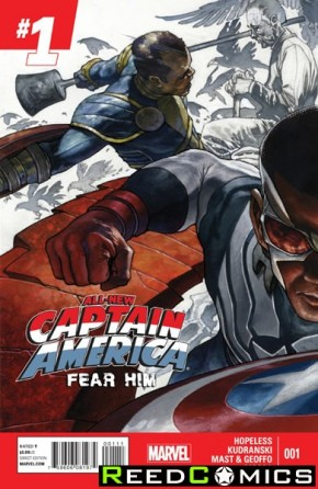 All New Captain America Fear Him #1