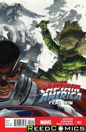 All New Captain America Fear Him #2