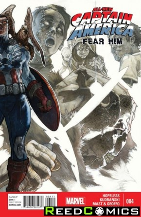 All New Captain America Fear Him #4