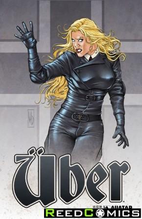 Uber #22 (Propaganda Poster Cover)