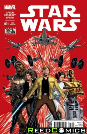 Star Wars Volume 4 #1 (3rd Print)