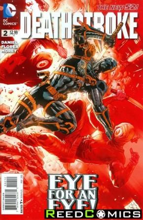 Deathstroke Volume 3 #2 (2nd Print)
