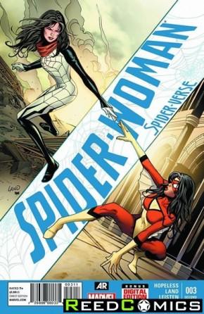 Spiderwoman Volume 5 #3 (2nd Print)