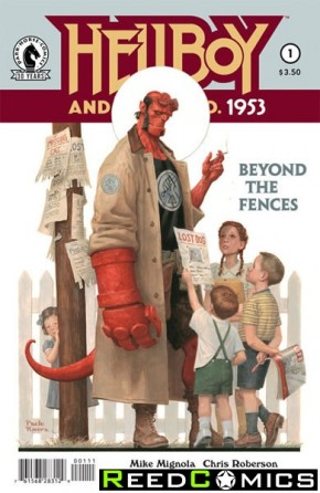Hellboy and the BPRD 1953 Beyond the Fences #1