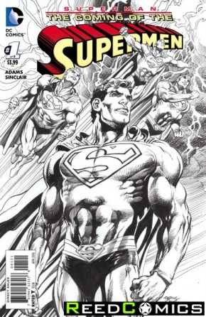 Superman The Coming of the Supermen #1 (1 in 25 Incentive Variant Cover)