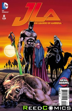 Justice League of America Volume 4 #8 (Neal Adams Variant Cover)
