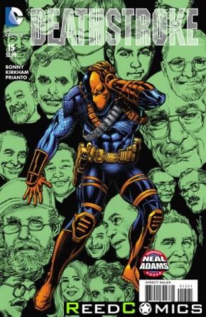 Deathstroke Volume 3 #15 (Neal Adams Variant Cover)