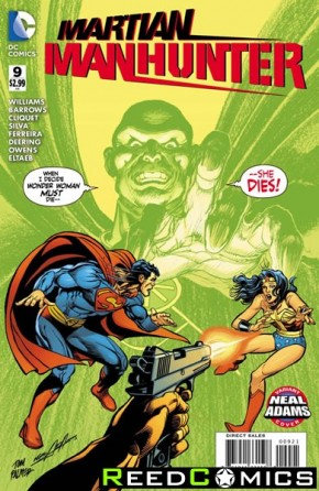 Martian Manhunter Volume 4 #9 (Neal Adams Variant Cover)