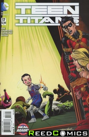 Teen Titans Volume 5 #17 (Neal Adams Variant Cover)