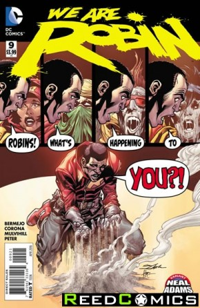 We Are Robin #9 (Neal Adams Variant Cover)
