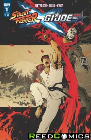 Street Fighter X GI Joe #1 (Subscription Variant Cover)