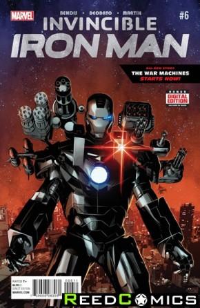 Invincible Iron Man Volume 2 #6