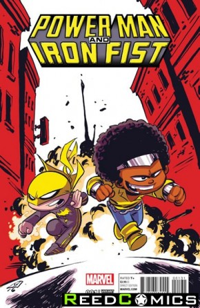 Power Man and Iron Fist Volume 3 #1 (Skottie Young Baby Variant Cover)