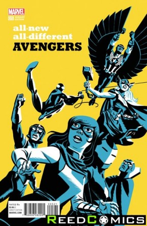 All New All Different Avengers #5 (1 in 10 Cho Incentive Variant Cover)