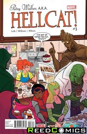 Patsy Walker AKA Hellcat #3