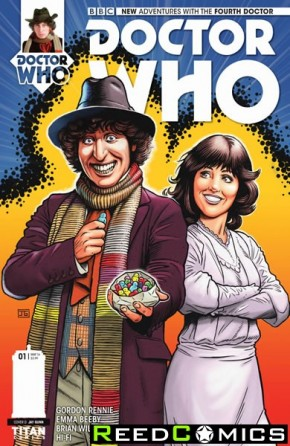 Doctor Who 4th #1 (1 in 10 Incentive Variant Cover)