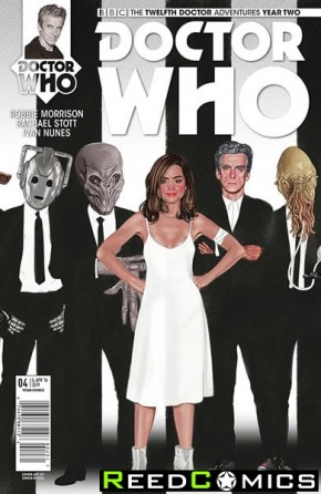 Doctor Who 12th Year Two #4 (1 in 10 Incentive Variant Cover)