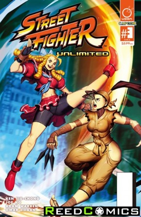 Street Fighter Unlimited #3 (Cover A)