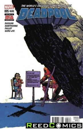 Deadpool Volume 5 #5 (2nd Print)