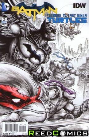 Batman Teenage Mutant Ninja Turtles #2 (2nd Print)