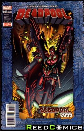 Deadpool Volume 5 #6 (2nd Print)