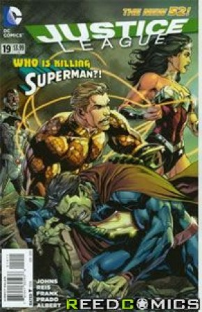 Justice League Volume 2 #19