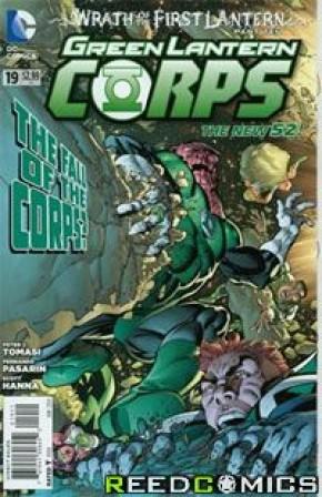 Green Lantern Corps Volume 3 #19
