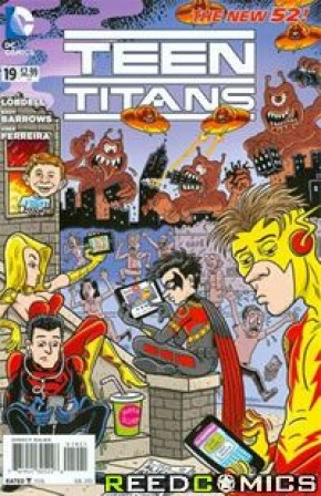 Teen Titans Volume 4 #19 (MAD Variant Cover)