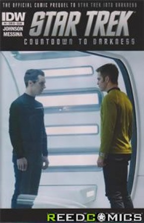 Star Trek Countdown to Darkness #4 (1 in 5 incentive)
